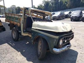 Sucata Chevrolet D-10 Ano 1982 Vendo Peças Cambio Diferencia