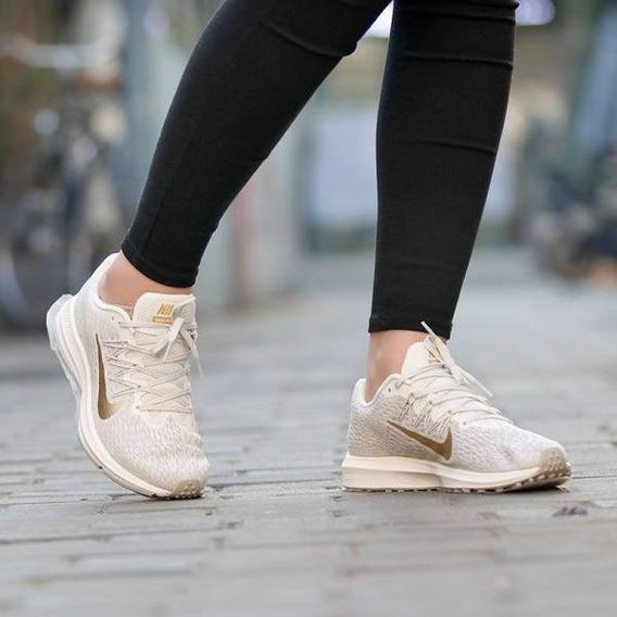 Zapatillas Nike Air Zoom Winflo 5 Mujer Running C/ Envio