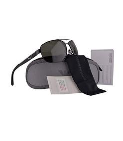 42ff9d023 Gafas Polarizado Lentes Sol Emporio Armani Ea2036 Negro/plat