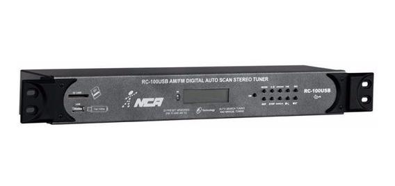 Amplificador Potência Mesa Cabeçote Receiver Nca Rc100 Usb