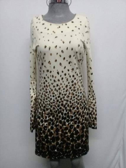 Vestido Julie Brown Tipo Leopardo. La Segunda Bazar