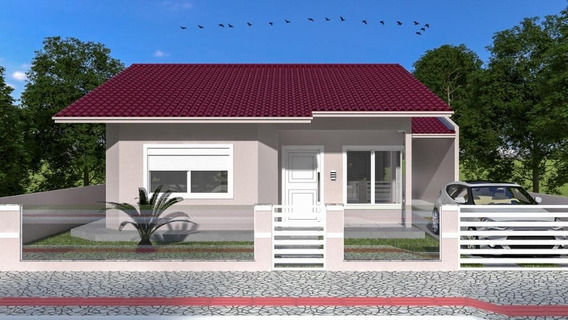 Casa Em Praia De Fora, Palhoça/sc De 100m² 3 Quartos À Venda Por R$ 450.000,00 - Ca392379