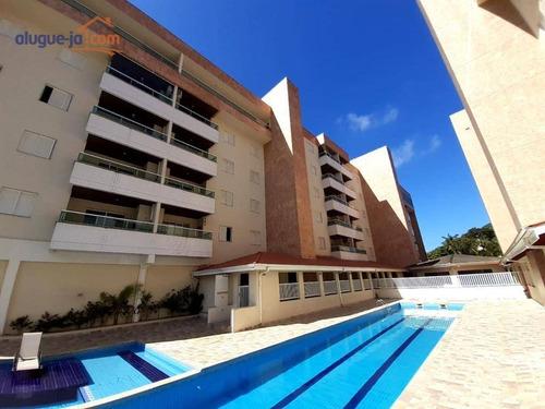 Apartamento Com 3 Dormitórios Para Alugar, 80 M² Por R$ 2.400,00/mês - Toninhas - Ubatuba/sp - Ap9963