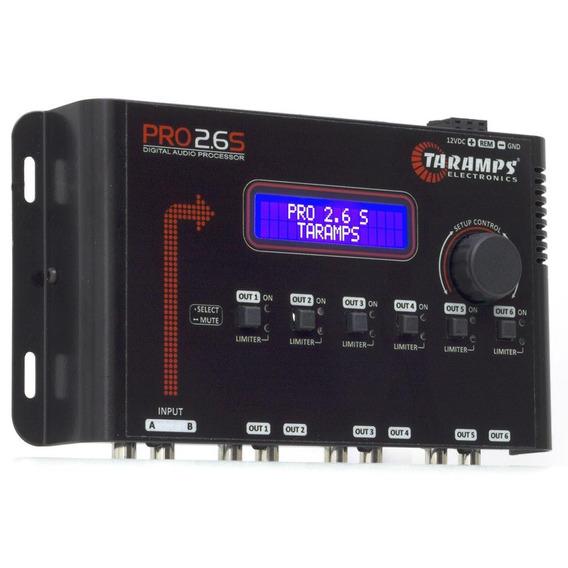 Digital Aúdio Processador Taramps Pro 2.6s Equalizador