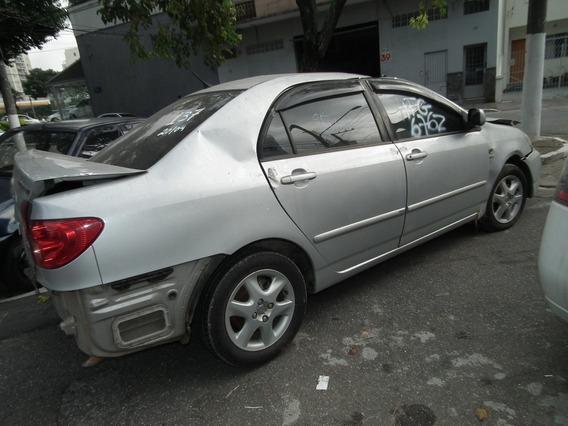 Sucata Corolla Motor Câmbio Rodas Airbag Bancos Portas