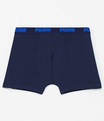 Cueca Boxer Puma Cotton - Azul