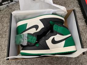 Sneakers Originales Jordan Retro 1 Og Pine Green.