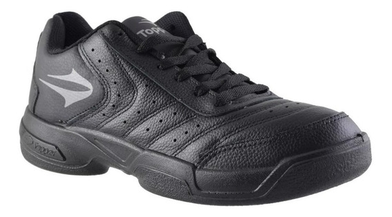Zapatillas Topper Game Over Iii - Cuero - Negro / Blanco