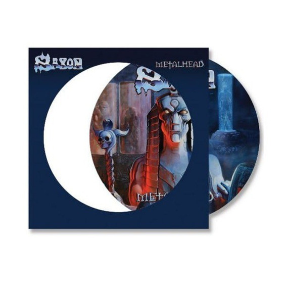 Saxon Metalhead Vinilo Lp Picture Disc Nuevo En Stock Import