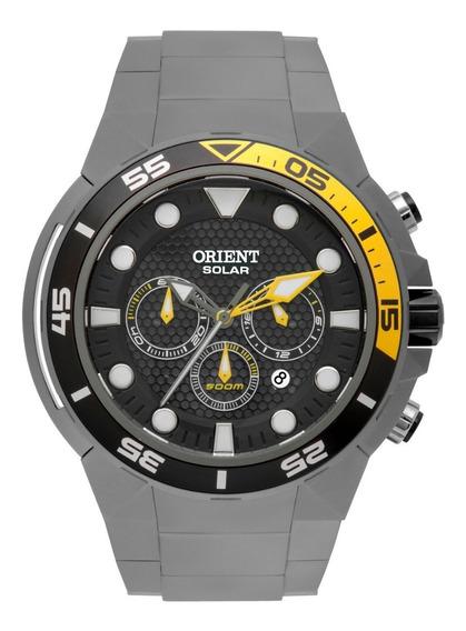Relógio Orient Masculino Seatech 500m Mbttc014 Solar Titanio