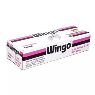 Grapas Corrugadas Wingo 700 (pack 5 Cajas De 5000 Und C/u)
