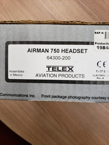 Headset Telex Airman 750