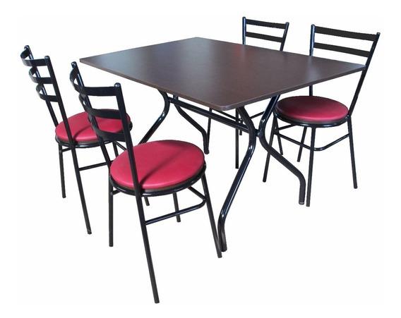 Mesas E Cadeiras P/ Lanchonete Restaurante Refeitório Bar