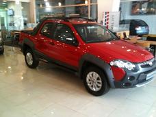 Fiat Strada Adventure 3ptas, Anticipo De $82.000 Y Retira Ya