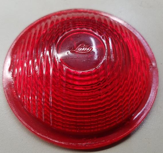 Lente Lanterna Traseira Vermelha Leão Antigos 8cm Diâmetros