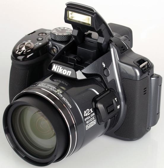 Câmera Nikon Coolpix P520 - Youtuber