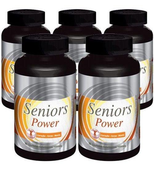 Seniors Power Original - 1000mg - 05 Potes