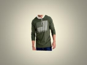 Camibuso Masculino Verde-marketing Personal-talla L