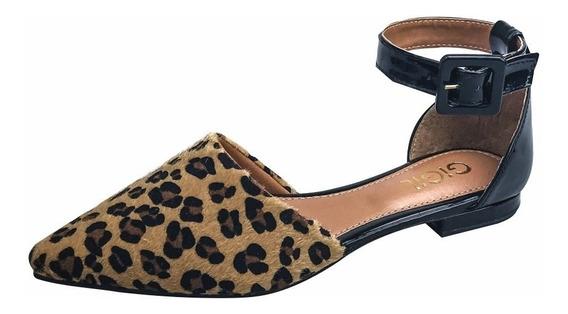 Sapatilha Salomé Feminina Sapato Scarpin Rasteirinha Fu01