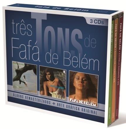 Três Tons De Fafá De Belém - Box Com 3 Cds - Lacrado