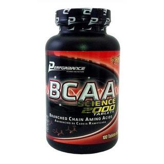 Bcaa Science 2000 - 100 Tabletes