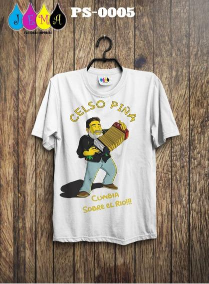 Camisa Homenaje A Celso Piña
