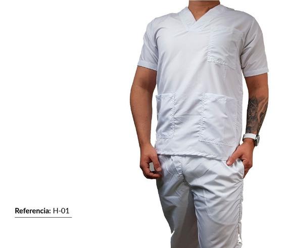 Uniforme Hombre En Antifluido - Unicolor