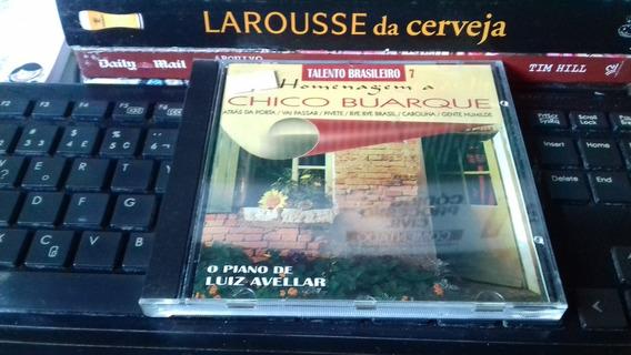 Cd Talento Brasileiro - Homenagem A Chico Buarque - Original