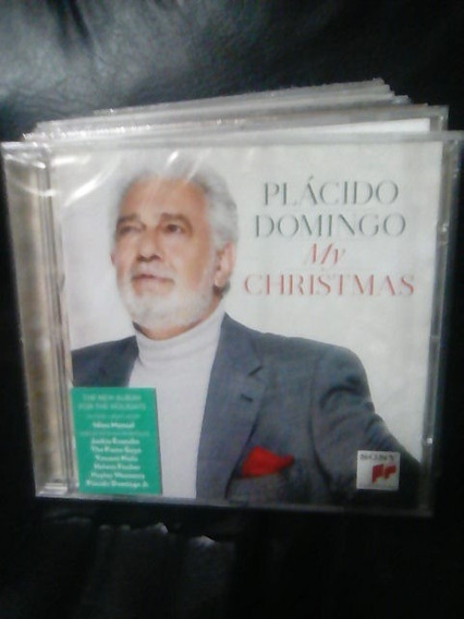 Placido Domingo My Christmas Cd Nuevo Original Sellado
