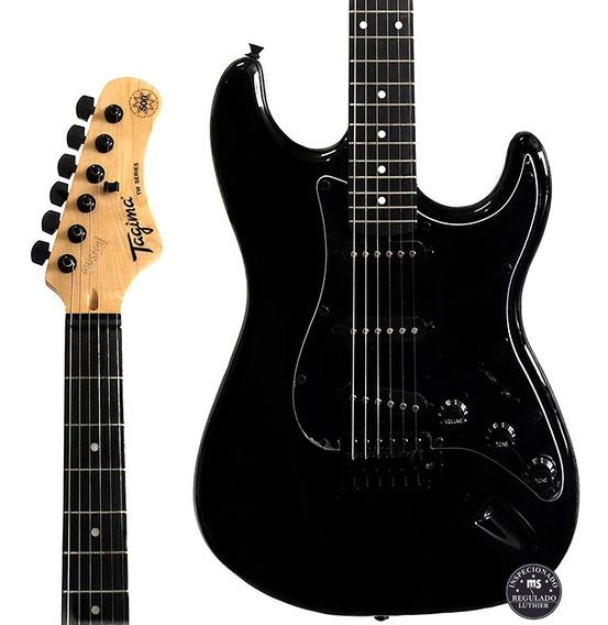 Guitarra Tagima Tg 500 Preta Oferta!
