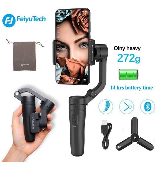 Gimbal De Mão Vlog Pocket Feiyutech P/ Smartphone