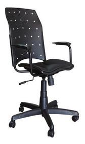 Cadeira Escritorio Presidente Ergoplax Em Plástico