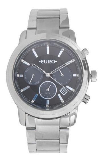 Relógio Euro Eujp25aa/3c Prata
