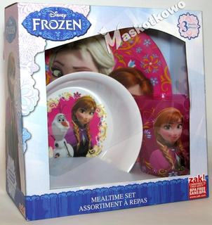 Set Platos Frozen Disney Store