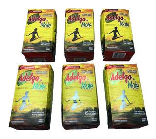 Yerba Mate Adelgamate Pack 6 Unidades 500 Gr Hierbas Natural
