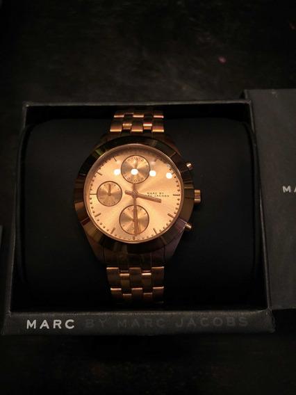 Reloj Marc Jacobs Dorado Rosado Modelo Mbm3394