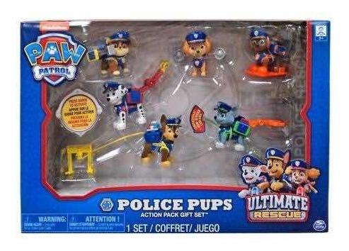 Paw Patrol Set Police Pups