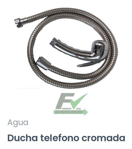 Ducha Teléfono De Lujo Cromada
