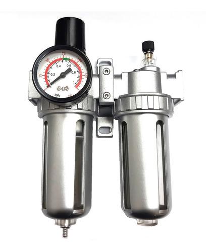 Filtro Regulador De Presion Lubricador Compresor 1/2 Rotake