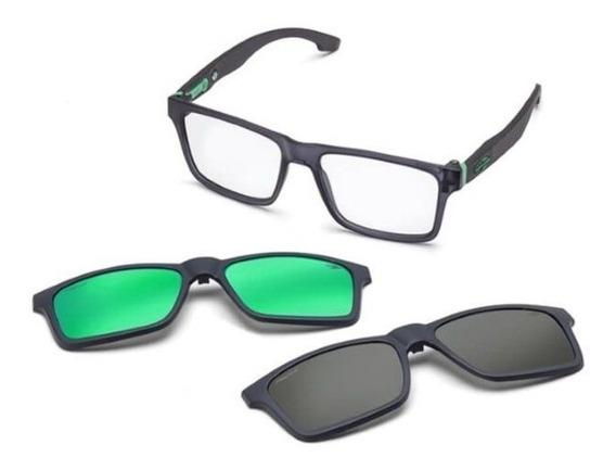 Oculos Sol Mormaii Swap M6057d6356 Com 2 Clip On Polarizado