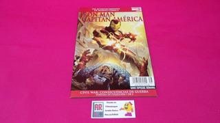 Comic Iron Man Capitan America Civil War No.1 De 2 Año 2007
