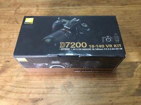 Câmera Nikon D7200 ,18-140 Frete Grátis Com Nf