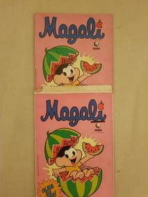 Gibi Magali 1 Globo Com Porta Gibi Original 1989
