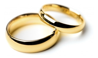 Alianzas Anillos Oro 18k S/costura Casamiento Compromiso 2gr