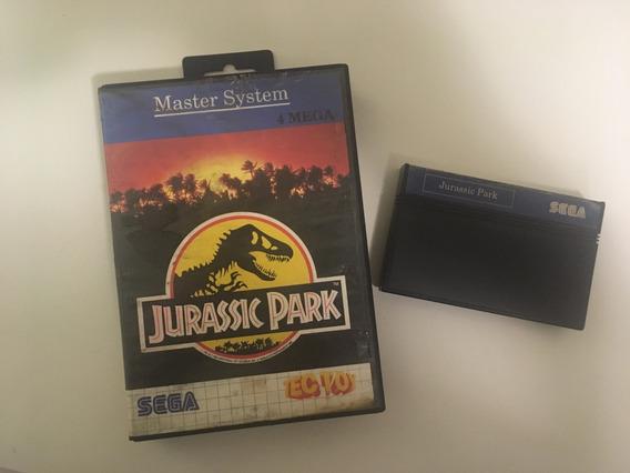 Cartucho Jurassic Park Master System