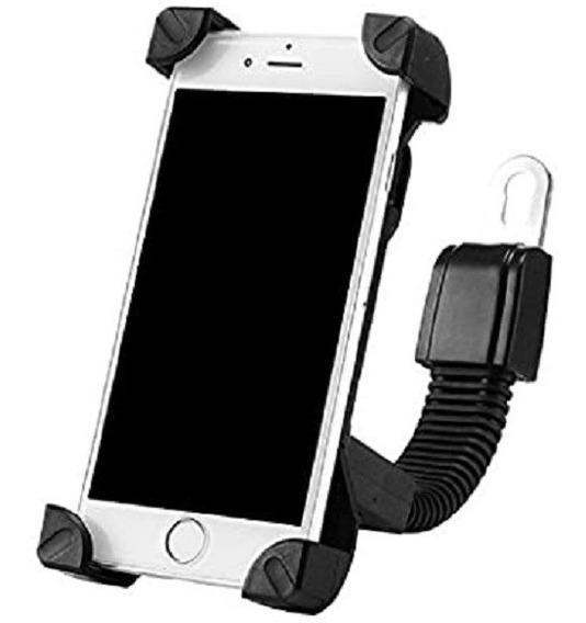 Soporte Celular Moto,scooter Agarre Del Espejo Regulable