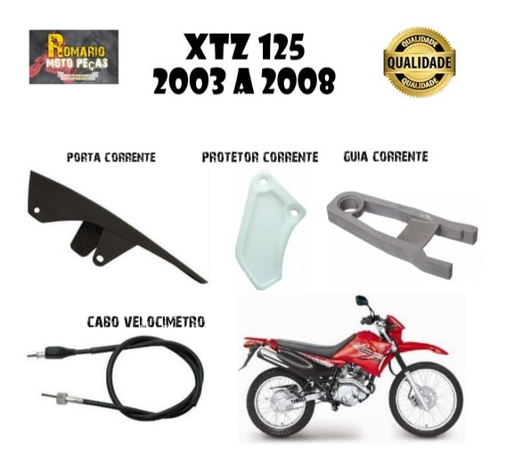 Protetor+guia+cabo+porta Corrente Xtz 125
