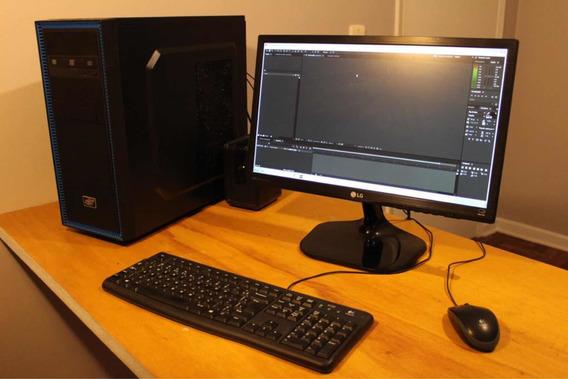 Computador Pc Gamer - Edição De Áudio E Vídeo - I5 16gb Ram