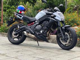 Kawasaki Er 6 N 2014 Blanca