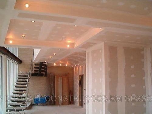 Imagem 1 de 1 de Drywall Forro De Teto E Parede.